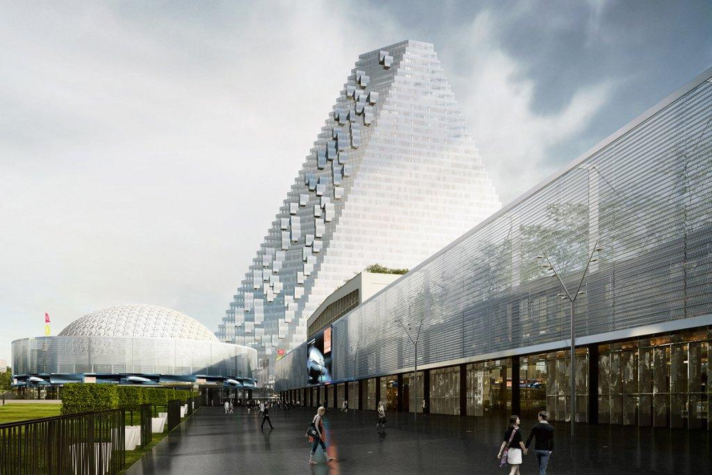 Promenade au parc des pavillons chroniques d 39 architecture - Parc d exposition porte de versailles ...