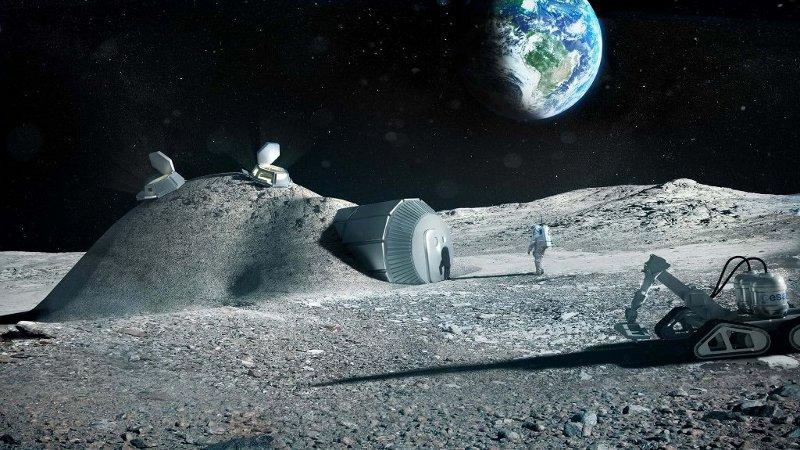 De la Terre à la Lune avec Foster + Partners