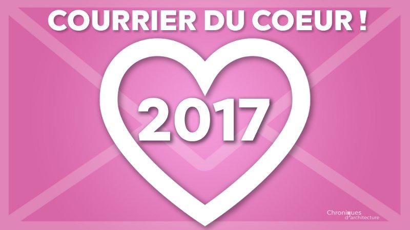 On écrit à Chroniques : courrier du cœur 2017