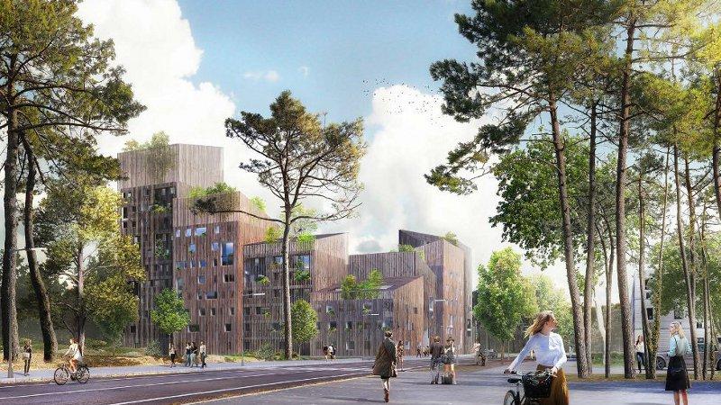 Un immeuble en bois à R+10 à Angers pour Calq et LGA