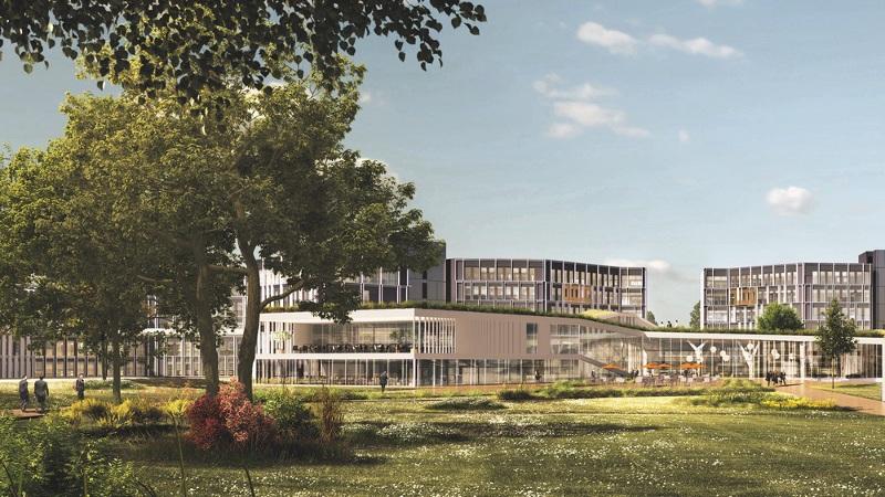 Ré-architecture du Crédit agricole vue par Archigroup et Thierry Roche