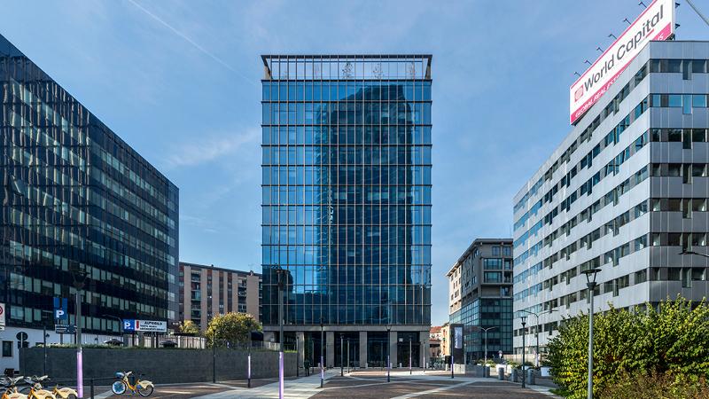 S32 Fintech District, à Milan, comme son nom l'indique