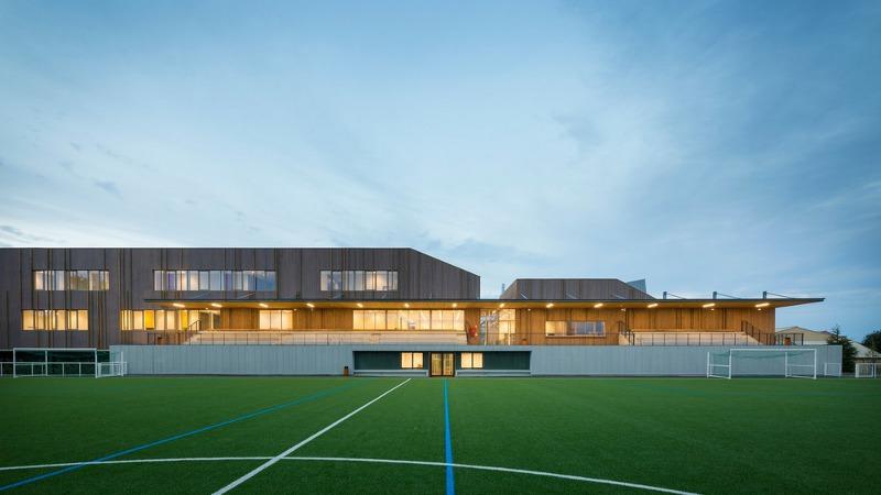 A Bezons, une Maison des Sports signée Engasser & associés