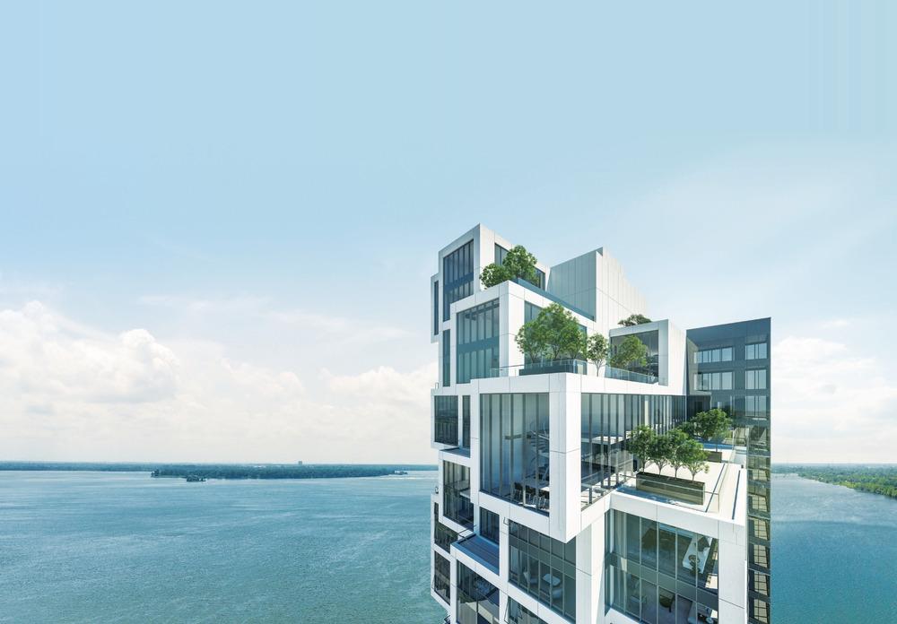 La tour symphonia pop montr al par provencher roy for Architecture contemporaine definition