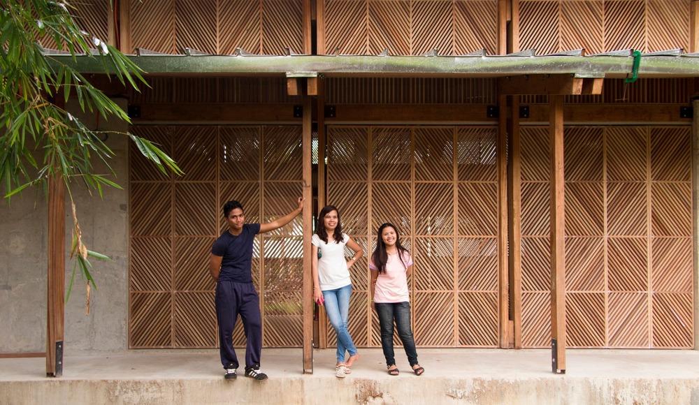 Pour les orphelins de tacloban l architecture n est pas for Architecture symbolique