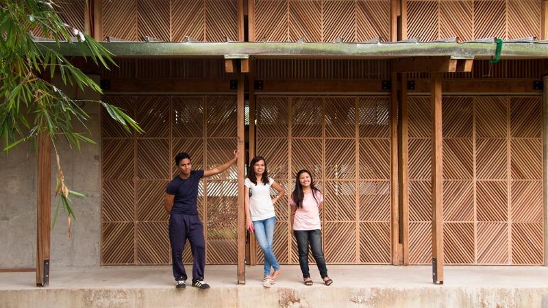 Pour les orphelins de Tacloban, l'architecture n'est pas que symbolique