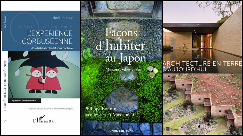 Livres : de Corbu, du Japon, de la terre crue