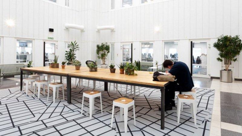 Les 'Millenials', enfants gâtés de l'architecture des lieux de travail