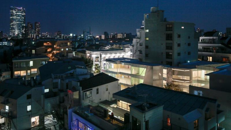 Architecture en triangle à Tokyo selon Ryuichi Sasaki