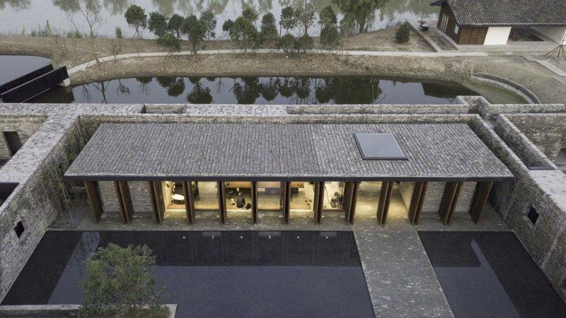 Les murs de Chine de Neri&Hu pour un hôtel au luxe ascétique