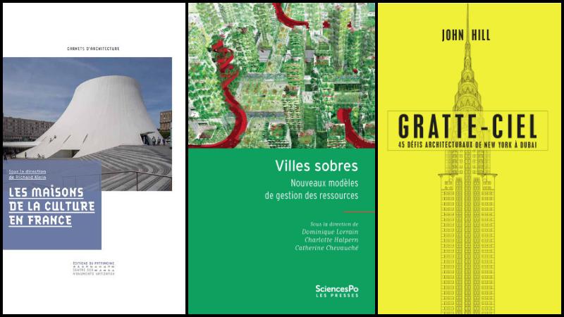 Livres - Villes sobres : de la maison de la culture au gratte-ciel ?