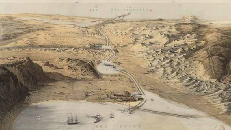 L'épopée du Canal de Suez, des Pharaons au XXIe siècle