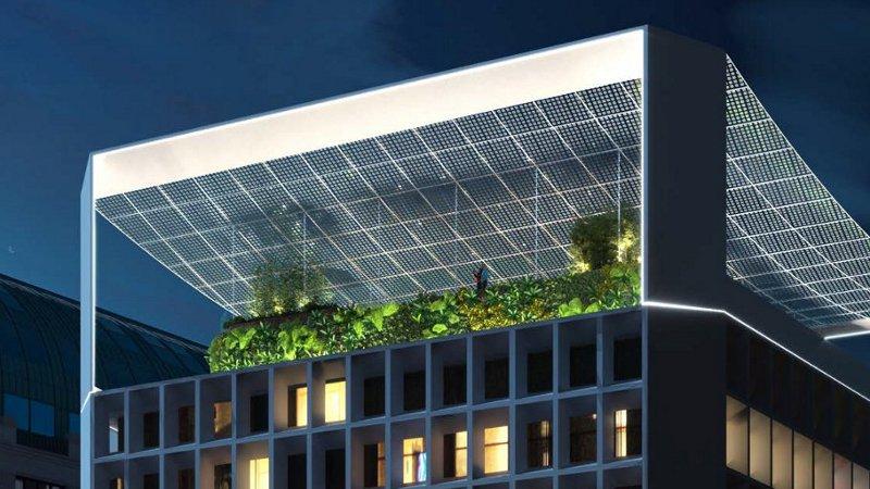 Bota Solar à Bruxelles par Sunsoak & Ney