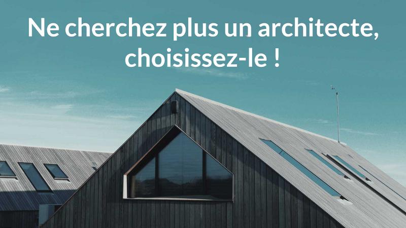 Adopte un archi : les Meetic de l'Architecture envahissent le marché