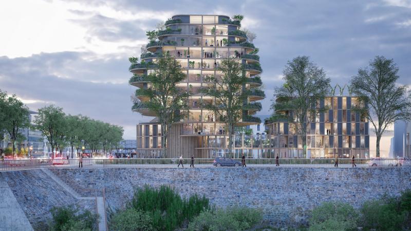 Angers la ville qui s'est prise à rêver d'architecture