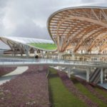 Pour la gare de Chengdu, AREP fait le pari du bois