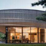 Centre de découverte et de services en bois par Smith Vigeant
