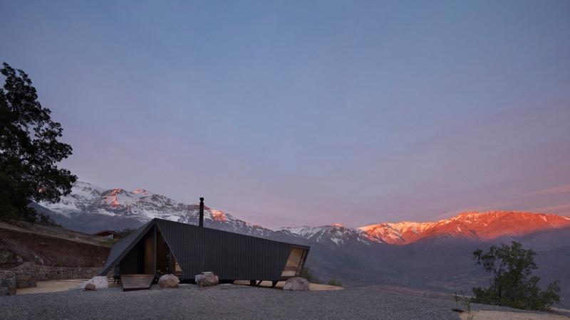 Dans les Andes, un refuge confort par Gonzalo Iturriaga