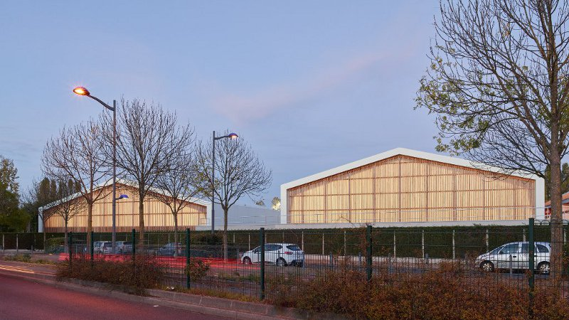 La salle de sport, un matériau urbain pour Ligne 7