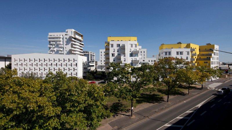 Art de ville à Evry dessiné par Atelier Puzzler
