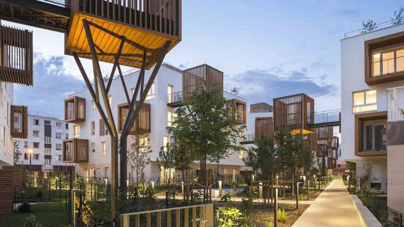 A Romainville, les logements de Brenac & Gonzalez sont nés par césure