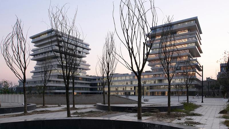 Campus City de Hangzhou, une école normale aux dimensions de la Chine