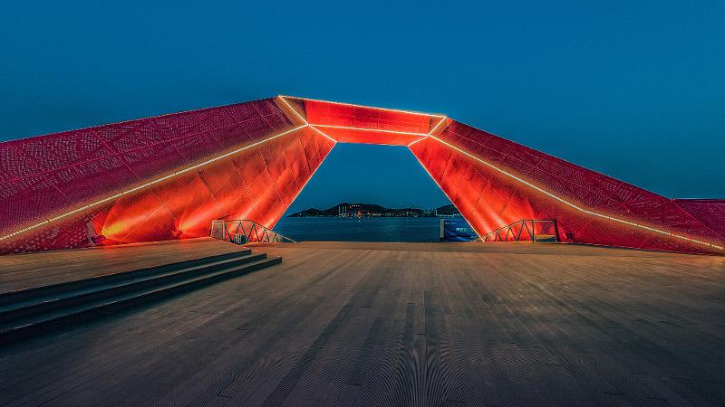 Le pont de Xifeng à Qingdao, ce n'est pas de la petite bière