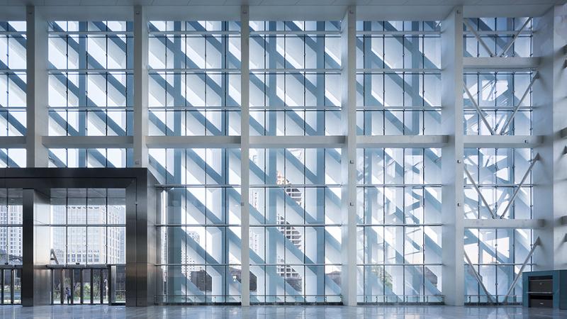 Illusion d'optique pour le centre de congrès de WSP ARCHITECTS