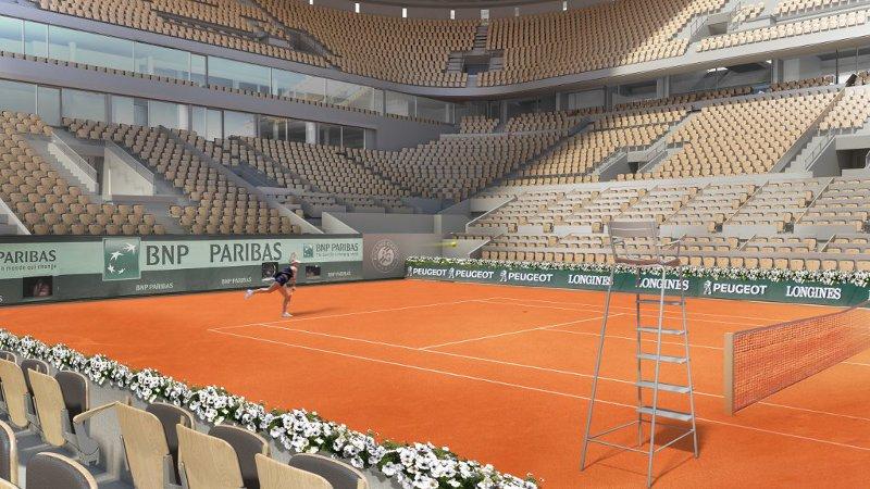 A Roland-Garros, un W qui veut dire…