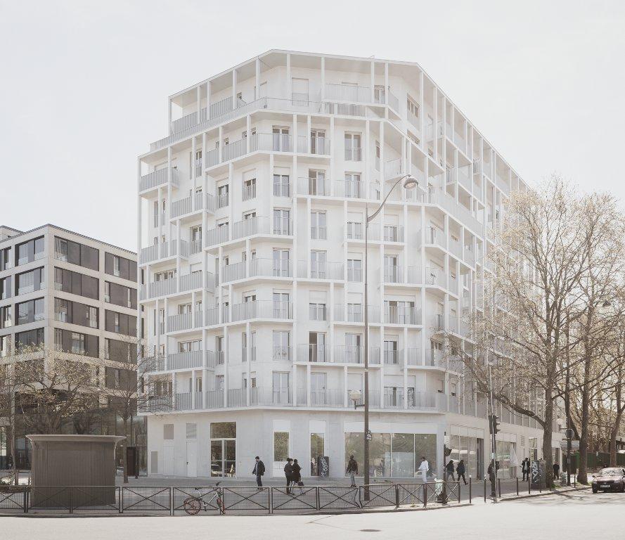 63 logements sociaux sign s hardel le bihan chroniques d 39 architecture - Bureau de change porte de clignancourt ...