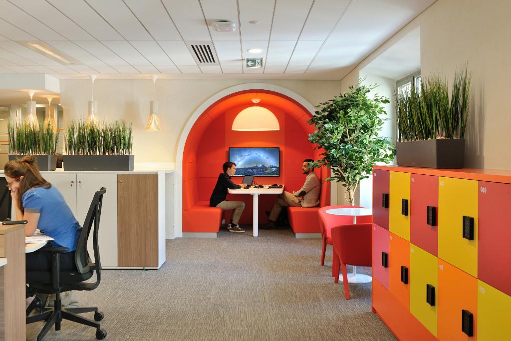 Pour les bureaux flex office retour vers le futur