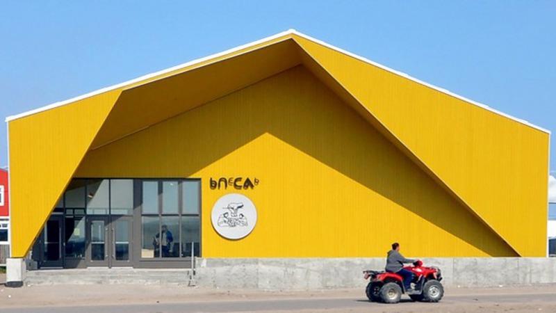 A Kuujjuaraapik, au Nunavik, un centre culturel Inuit signé Blouin Orzes architectes