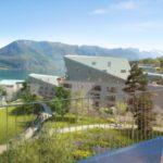 En Haute-Savoie, Christian de Portzamparc «coule» ses bâtiments dans la pente