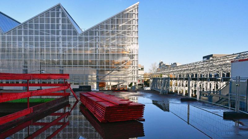 De l'industrie à l'université pour la halle 6 ouest de l'Ile de Nantes