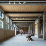Le centre d'art de Bruno Gaudin, ce n'est pas une tannerie