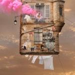 Flying Houses de Laurent Chéhère