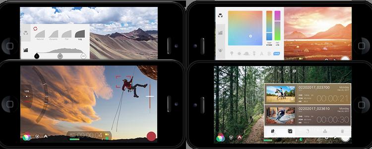 Captures d'écrans de l'application