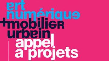 Art numérique & mobilier urbain – Appel à projets international