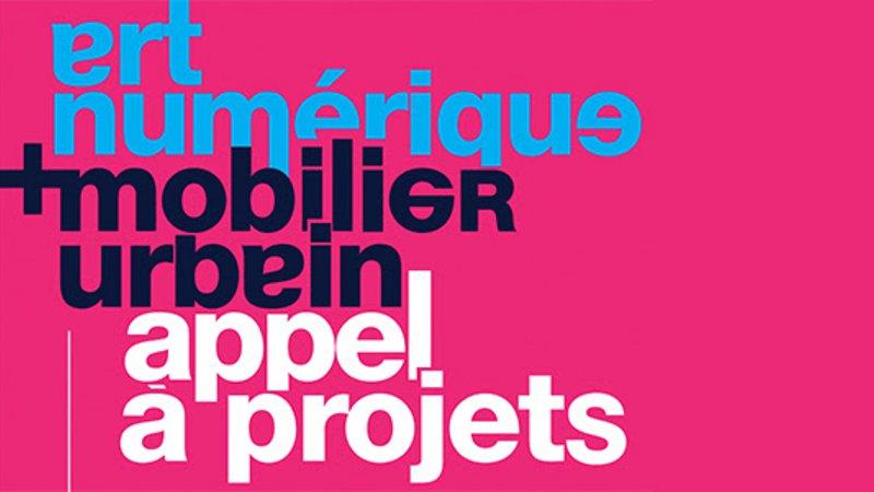 Art numérique & mobilier urbain - Appel à projets international