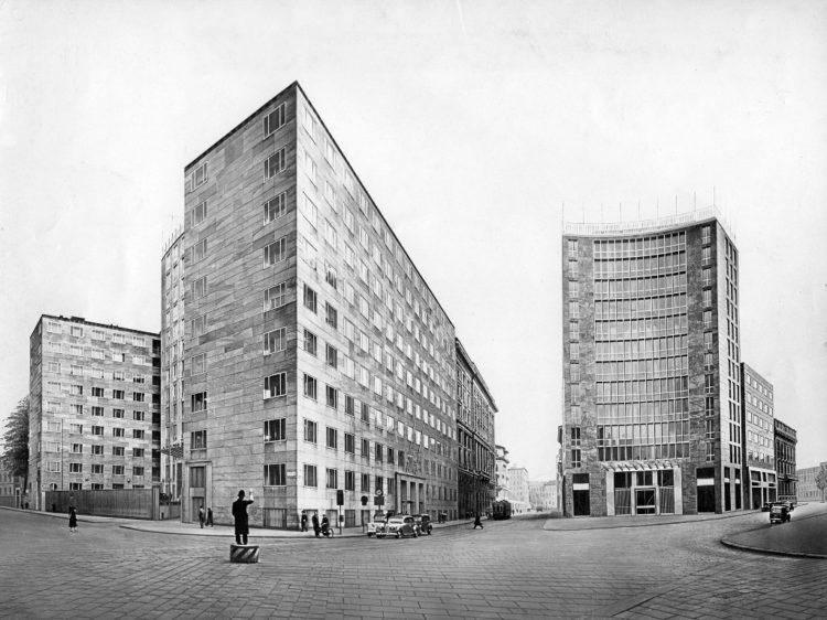 Premier immeuble Montecatini