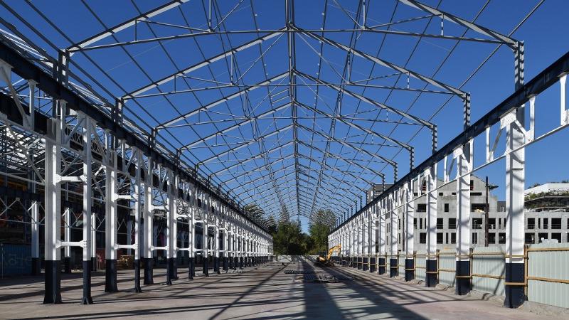 Halles 1&2 : accélérateur créatif sur l'Ile de Nantes par Gardera- D