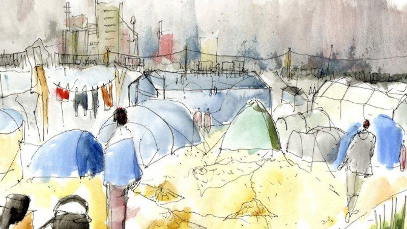 Naissance d'une ville - La jungle de Calais