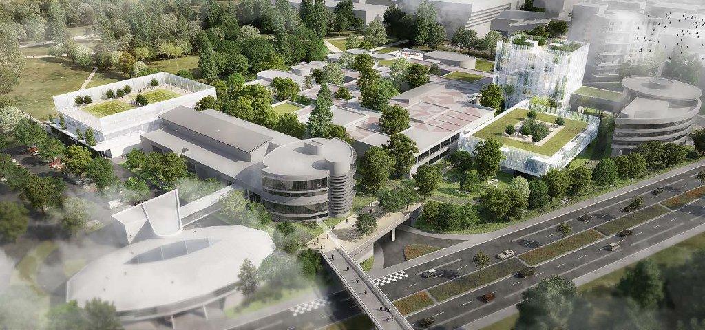 Campus ESSEC 2020, dans une traduction signée Architecture