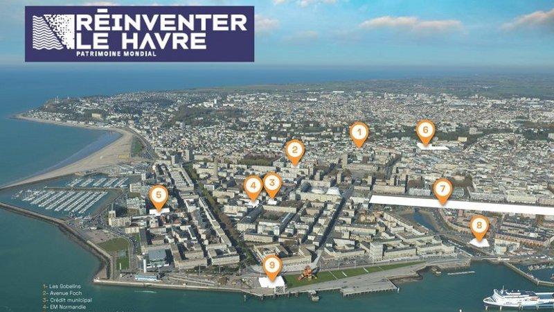 Réinventer Le Havre : un appel à projets pour neuf lieux emblématiques