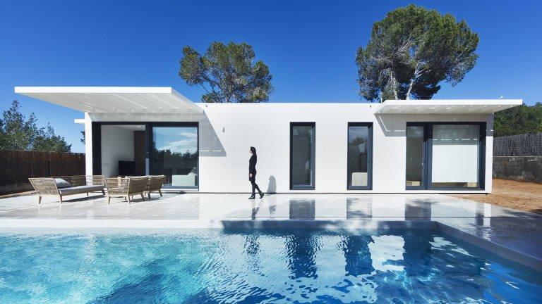 Casas inhaus la maison d architecte sur catalogue - Maison modulaire espagnole ...