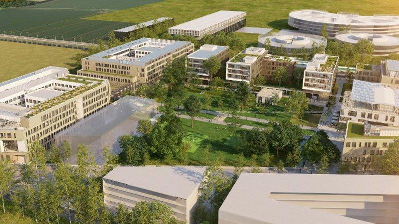 Campus d'AgroParisTech-Inra, par Marc Mimram et Jean-Baptiste Lacoudre