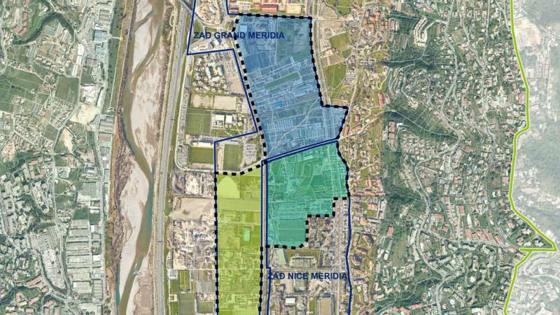L'EPA Nice Éco-Vallée - concours maîtrise d'œuvre urbaine de Grand Méridia