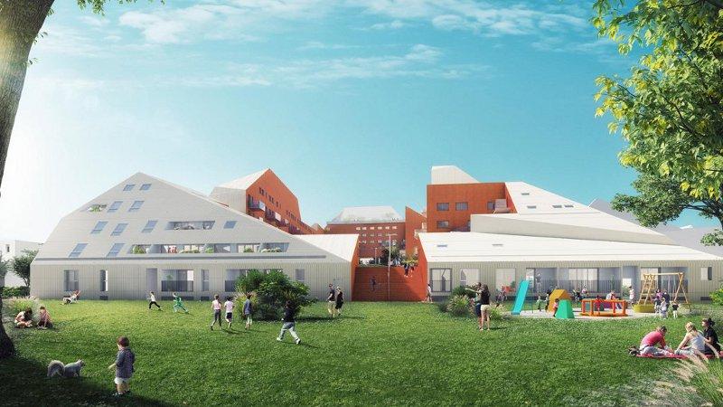 Quai des Queyries - Winy Maas / MVRDV architectes, Rotterdam