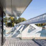 Le barrage passerelle de Luc Weizmann ou l'élégance de l'ouvrage d'art