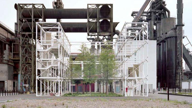 Campus de Belval, sur les vestiges, Inessa Hansch